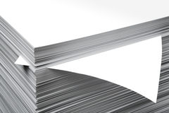 feuille de papier Photos libres de droits