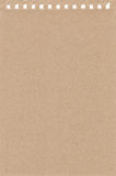 Feuille de papier d'un carnet illustration de vecteur