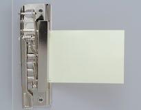 Feuille de papier dans le fichier de clip Photographie stock