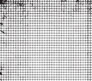 Feuille de papier dans une cage Photo stock