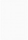 Feuille de papier de grille Photographie stock