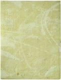 Feuille de papier fabriquée à la main crème Photo libre de droits