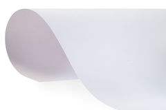 Feuille de papier texturisé Images stock