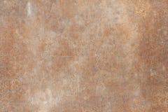 Feuille de rouille en métal de texture de fond vieille Images libres de droits