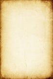 Feuille de vieux papier. Images libres de droits