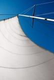Feuille de yacht Photographie stock libre de droits