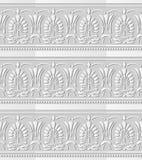 feuille Dot Line de forme de fan de croix de courbe d'art du livre blanc 3D Photo stock