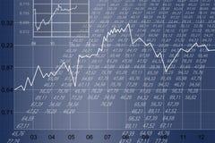 Feuille financière Image stock