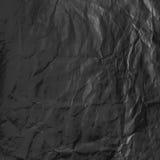 Feuille noire de papier Photographie stock