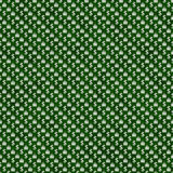 Feuille verte et blanche de marijuana et répétition de modèle de symbole du dollar illustration de vecteur