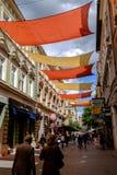 Feuilles colorées, Sarajevo, Bosnie-Herzégovine images libres de droits