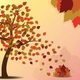 Feuilles d'automne illustration de vecteur