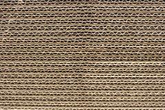 Feuilles de carton ondulé Image stock