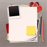 Feuilles de papier Image stock