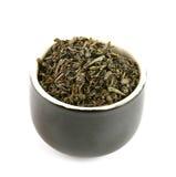 Feuilles de thé Photographie stock