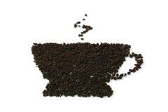 Feuilles de thé Image libre de droits