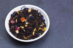 Feuilles de thé lâches Photo libre de droits