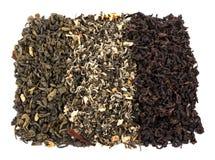 Feuilles de thé sèches lâches de thé Photos libres de droits