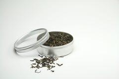 Feuilles de thé vertes Photo libre de droits