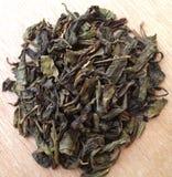 Feuilles de thé vertes Photos stock