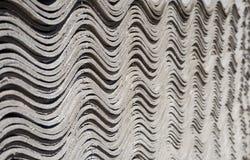 Feuilles de toiture d'ardoise d'amiante Images libres de droits