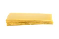 Feuilles sèches de lasagne Photos stock