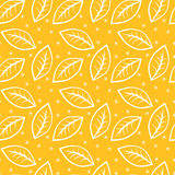 Feuilles sans couture Autumn Background illustration de vecteur