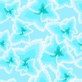 Feuilles sans couture de glace Photo stock