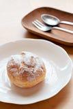 Feuilletés crèmes de pâtisserie Photos libres de droits