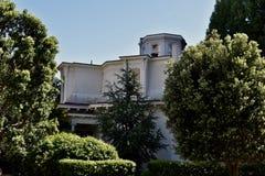 Feusier-Achteck-Haus ist eins des Letzten von drei in San Francisco, 3 Lizenzfreie Stockbilder