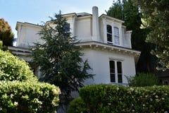 Feusier-Achteck-Haus ist eins des Letzten von drei in San Francisco, 1 Stockfoto