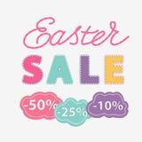 Feutre de vente de Pâques d'impression Photo stock