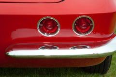 Feux arrière de Corvette Photo stock