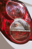 Feux arrière rouges Image stock
