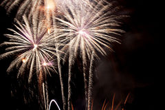 Feux d'artifice à Valence Photos stock