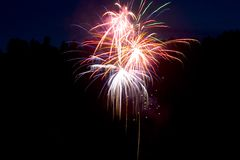 Feux d'artifice 1 photographie stock libre de droits