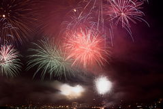feux d'artifice 1 Images stock