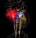 Feux d'artifice 9 Photographie stock