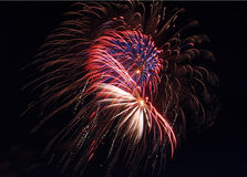 Feux d'artifice 11 Photographie stock libre de droits