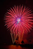 Feux d'artifice Image stock