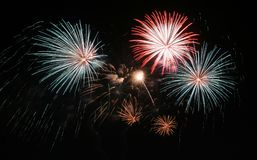 Feux d'artifice Photos stock