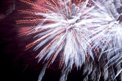 Feux d'artifice (2562) Photos stock