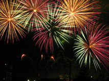 Feux d'artifice Images stock