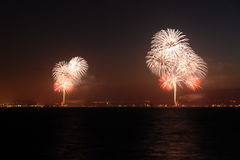 Feux d'artifice Photographie stock