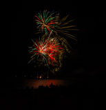 Feux d'artifice Photos libres de droits