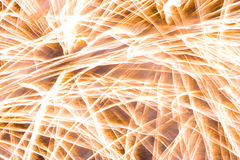 Feux d'artifice ! Image stock