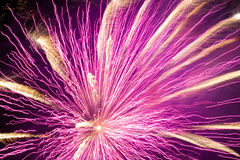 Feux d'artifice ! Photo stock