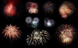 feux d'artifice de célébration Photo stock