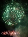 Feux d'artifice de feu d'artifice - photos courantes photo libre de droits