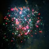 Feux d'artifice de feu d'artifice - photos courantes images stock